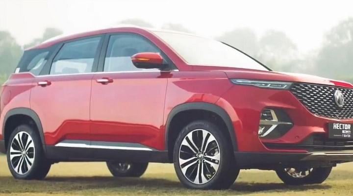 2021 MG Hector Plus Seven-Seater Price