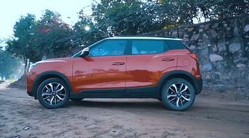 upcoming cars in India 2021-2022 - Mahindra xuv300 side profile