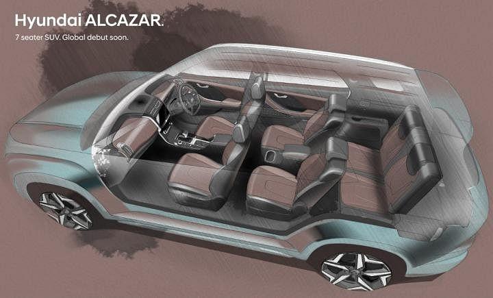 Upcoming Hyundai Alcazar Engine Image