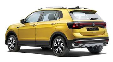 Volkswagen Taigun Rear Side Profile - Volkswagen Taigun vs Hyundai Creta