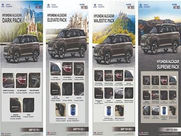 Hyundai Alcazar Accessory Packs Price
