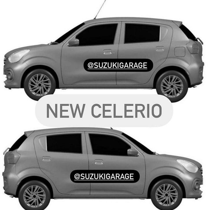 2021 Maruti Celerio Rendered Image