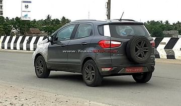 2021 Ford EcoSport Facelift Spied In India
