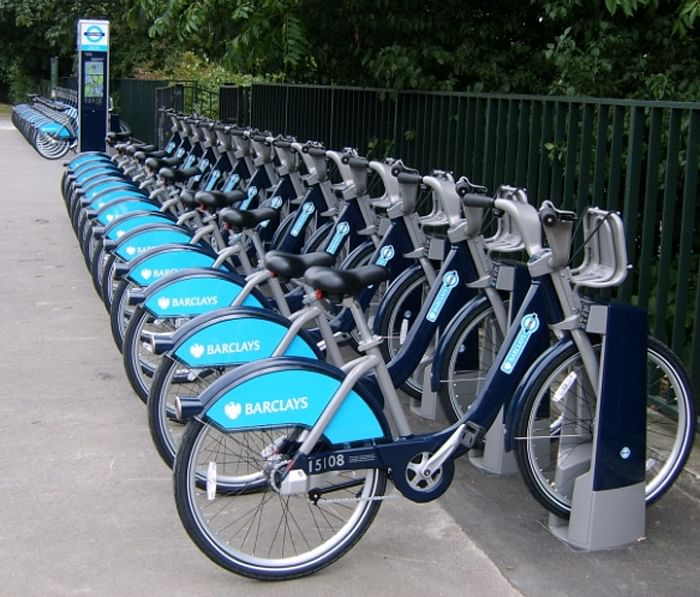 Cycling infrastructure and docking station for India