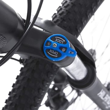 Bicycle suspension lockout