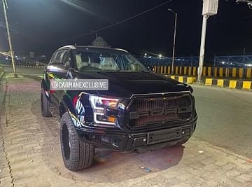 Ford Endeavour Modified Into Raptor