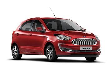 Ford Figo Automatic Front Side Profile - Ford Figo Automatic vs Maruti Swift AMT