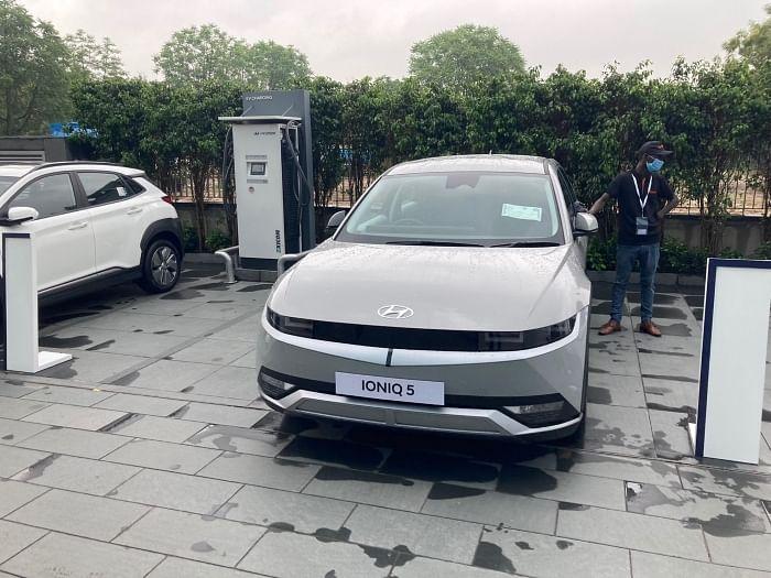Hyundai Nexo and Ioniq 5 showcase