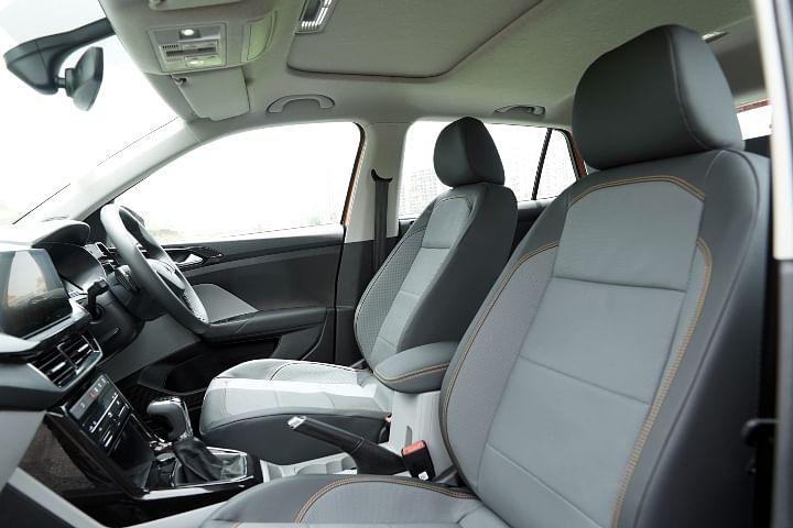 Skoda Kushaq Front Seats