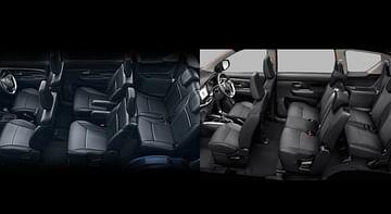 Suzuki XL7 and XL6 interior