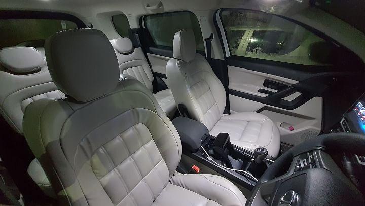 Tata Safari XE Modified Interior