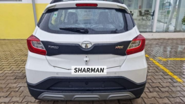 2021 Tata Tiago NRG Facelift Rear
