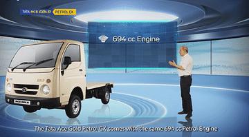 Tata Ace Gold Petrol CX engine spec