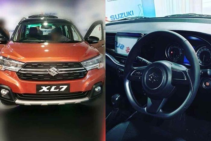 Suzuki XL7 and XL6 dashboard difference