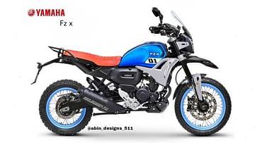 Yamaha FZ-X Modified