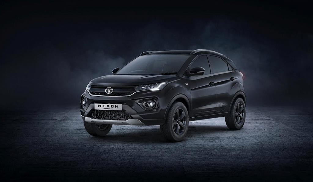 Tata Nexon Dark Edition Front Side Profile
