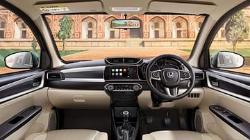 2021 Honda Amaze Facelift Dashboard