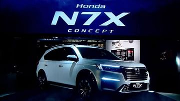 upcoming cars in India 2021-2022 - honda n7x images front three quarters