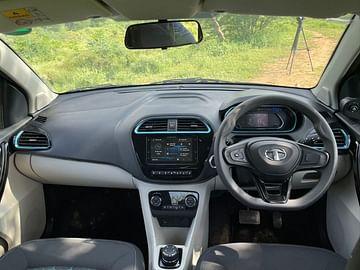 2021 tata tigor ev review images interior dashboard