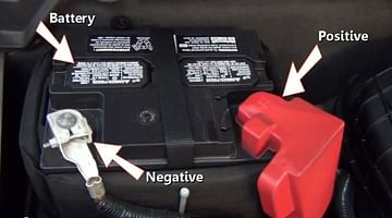 Battery with indication