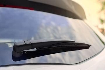 rear windshield wiper of a car