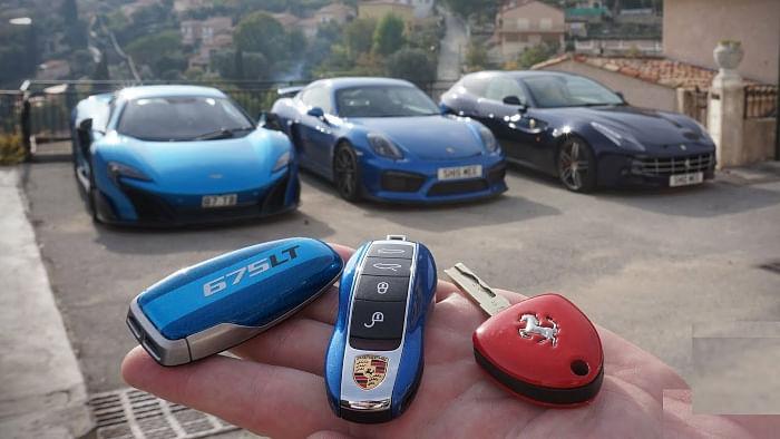 keyless remote battery