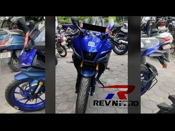 yamaha r15m images blue front rear side