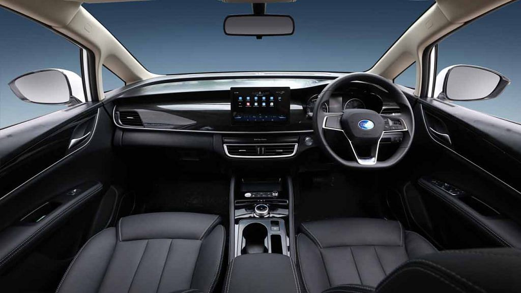 byd e6 electric mpv interior official image