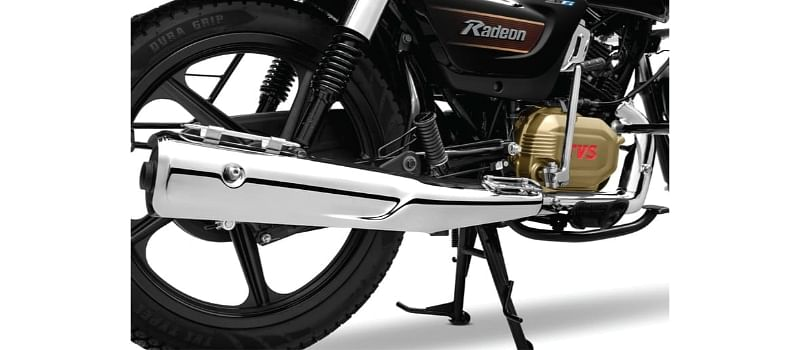 TVS Radeon Tyres, Brakes and Features