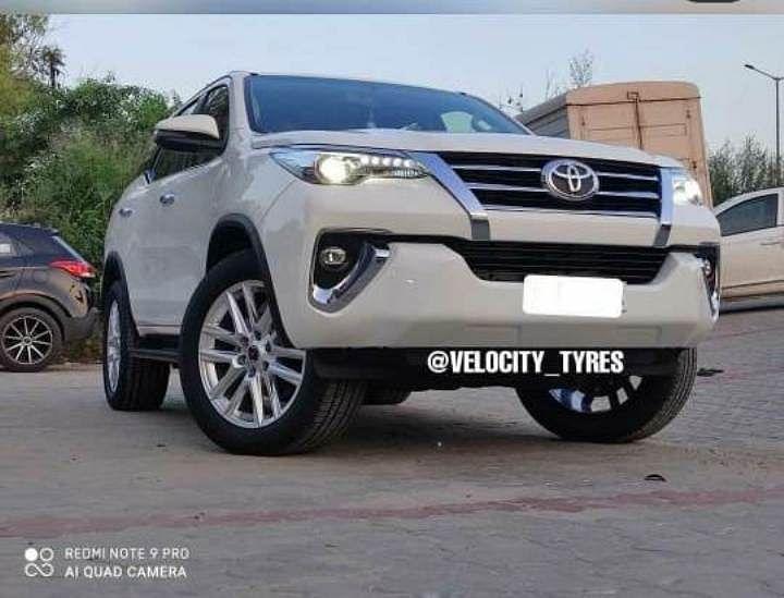 Toyota Fortuner Alloy Wheels
