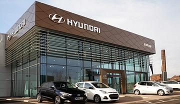 hyundai car dealership in india