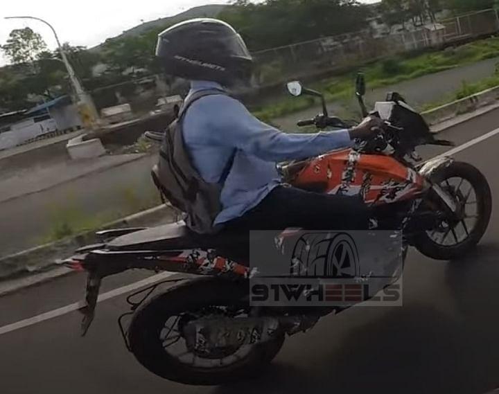 KTM 250 Adventure Spied