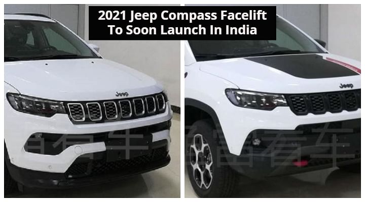 2021 Jeep Compass Facelift Finally In Flesh - India Launch ...