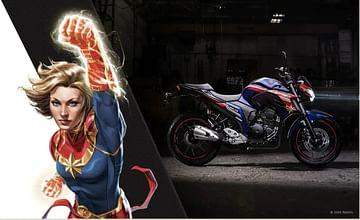 Yamaha FZ 25 Marvel Edition India