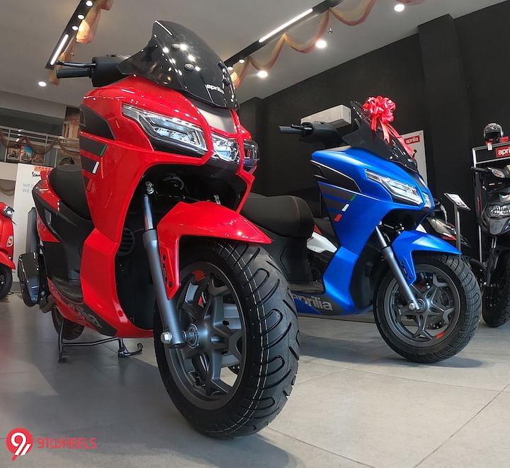 2021 Aprilia SXR 160 BS6 Price