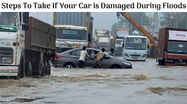 What Are The Steps To Take If Your Car Is Damaged During Floods - Details