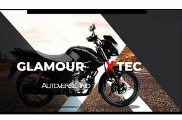Hero Glamour XTec Launch